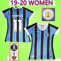 senhoras futebol futebol venda por atacado-Mulheres # 11 EVERTON # 7 LUAN 2019 2020 Grêmio Paulista Camisas De Futebol Brasil 19 20 meninas camisas De Futebol Brasil MARINHO PEPE senhoras uniformes