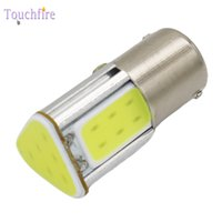 Wholesale green 1157 bulb resale online - 2pcs P21W BA15S S25 BAY15D Bulb Tube Auto Wedge led lights v Width Interior Signal brake Lighting Car Styling