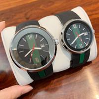 relojes de goma deportivos al por mayor-2019 Top Moda mujer Relojes Hombres Cronógrafo Reloj de cuarzo Deporte Hombre Fecha de alta calidad de lujo Relojes de pulsera Diseño agradable banda de goma reloj