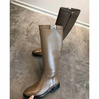 длинный шнурок оптовых-Ang Knight Boots кожа Женщины Сапоги на Высоком Каблуке Молния Кружева Платформа Дамы Длинные Сапоги Элегантные Над Коленом обувь бесплатная доставка
