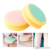 Wholesale hair removal pads for sale - Group buy Hair Removal pads Painless Smooth Skin Leg Arm Face Hair Removal Remover Exfoliator Depilation Sponge Skin Beauty Care Tools