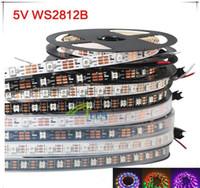 traumfarbe geführtes streifen ip67 großhandel-12V WS2811 LED Streifen Licht Band 5050 RGB SMD 5M 150LEDs Traum Magie Farbe Nicht IP65 IP67 Wasserdicht Adressierbar