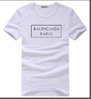 ropa popular gratis al por mayor-2019 la última camiseta de moda de impresión popular para hombres y mujeres ropa camiseta casual flojo de verano de manga corta de algodón jerseys gratis shippin