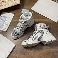 basketbol ayakkabıları orijinal toptan satış-Yüksek top bayanlar rahat ayakkabı lüks Moda Gerçek Deri ayakkabı Yüksek üst bayanlar Casual Sneakers Kalın alt Eğitmenler Basketbol ayakkabıları
