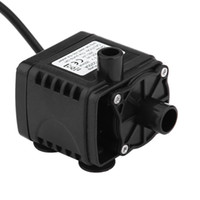 ingrosso mini pompe elettriche-Brushless 12V DC Electric Mini Circolazione dell'acqua Motore Brushless Pompa sommergibile per Hydroponics Medical Cooling 280L / H Car Styling