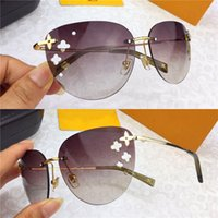 19b46bd4fef Wholesale flower sunglasses for sale - Classic style fashion ladies  sunglasses frameless ultra light with small