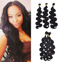 Wholesale Human Hair Body Wave Bulk For Braiding Natural Color No Weft For Black Women Brazilian Human Hair FDshine