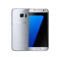 ingrosso nuovo telefono 16-2019 NUOVO Samsung Galaxy S7 / s7 edge Octa Core Cellulare Fotocamera da 16 MP Android 6.0 4GB / 32GB originale telefono rinnovato