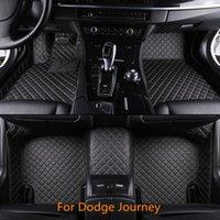 ingrosso viaggio di qualità-Nuovi tappetini per auto di alta qualità progettati appositamente per auto per Dodge Journey Tutti i modelli Tappeto anteriore e seconda fila offerti