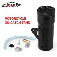 latas de combustible al por mayor-RASTP - Depósito de aceite de alta calidad para depósito de refrigerante de aleación de aluminio para el modelado de motos universal El combustible puede RS-OCC013