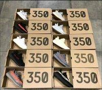 ingrosso creme da donna-Adidas yeezy supreme 350 le migliori scarpe da corsa sportive da uomo di design V2 nuove zebrate zebre statiche nere bianche di sesamo per le signore