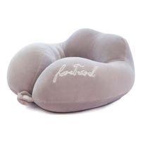 ingrosso poggiatesta del cuscino dell'automobile del collo della testa-Memory Foam Pillow Neck Morbido cuscino per l'allattamento Cuscino per il collo Supporto per il capo Poggiatesta a forma di U Cuscini da viaggio per auto da ufficio