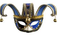 parti topu venedik toptan satış-Yaratıcı Cadılar Bayramı Maskesi erkek Masquerade Ball Avrupa ve Amerikan Parti Venedik Maske