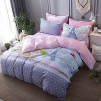Wholesale aqua bedding sets for sale - Group buy Modern Brief Bedding Set Duvet Cover Sets Bedclothes Bed Linens Quilt Covers with Pillowcases Single Double Queen King Size