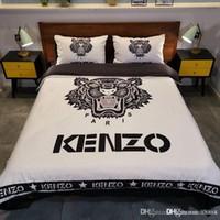 Wholesale 3d bedding sets luxury duvet resale online - Luxury Feather Pattern Bedding Set Golden D Duvet Cover Mandala Boho Bedclothes Feather Pattern King Queen DZX