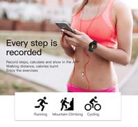 Wholesale gps run tracker for sale – best New W8 Smart Watch Sport Fitness Tracker IP67 Waterproof Smartwatch Running Cycling smart Wristband Smart Band Free DHL