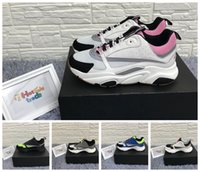 Wholesale pale green lace for sale - Group buy B22 Sneaker Pale Pink Technical Knit And Grey Calfskin Designer Shoes Reflective Calfskin B22 Sneakers Men Women B22 Running Shoes