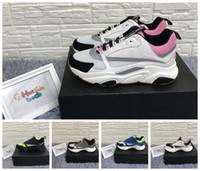 Wholesale light knit fabric resale online - B22 Sneaker Pale Pink Technical Knit And Grey Calfskin Designer Shoes Reflective Calfskin B22 Sneakers Men Women B22 Running Shoes