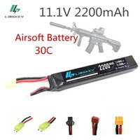 mini helikopter pilleri toptan satış-Limskey 11.1 v 2200 mah 30c Max 60c 3 s Mini Airsoft Silah Rc Model Helikopter Quadcopter Rc Lipo Pil Airsoft Silah Pil J190719
