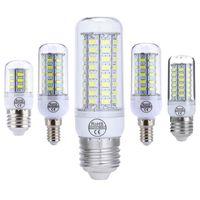 b22 toptan satış-Avize Süper Parlak E27 E14 GU10 G9 B22 LED Işık Mısır Ampul 5730 7W / 12W / 15W / 18W / 20W Sıcak / Beyaz 110V 220V