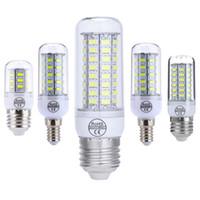 b22 venda por atacado-E27 E14 GU10 G9 B22 LED Light Milho Super Bright 5730 7W / 12W / 15W / 18W / 20W Quente / Branco 110V 220V para Chandelier