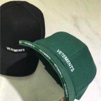 Wholesale cap vetement for sale - Group buy Vetements Denim Hat Boy Girls Adjustable Vetement Embroidery Baseball Caps T200409