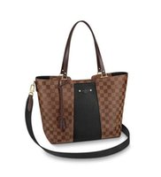 Wholesale jersey knits fabric resale online - N44023 Jersey WOMEN HANDBAGS ICONIC BAGS TOP HANDLES SHOULDER BAGS TOTES CROSS BODY BAG CLUTCHES EVENING