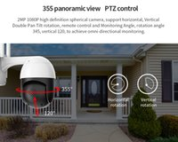 Wholesale ip wifi camera outdoor ptz for sale - Group buy Wireless Wifi IP Camera p PTZ Outdoor Speed Dome Security Camera Pan Tilt x Digital Zoom Network CCTV Surveillance