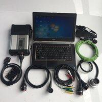 mb stern mehrsprachig großhandel-Beste MB Star C5 mit D-Ell e6420 mit V05.2019 Software für MB Diagnostic Tool Super Star C5 Komplettset Multi-Sprachen