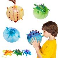 детские надувные игрушки оптовых-TPR надувной динозавр Детские игрушки дуя игрушки Декомпрессия новизны детей Любимая игрушка Горячие Продажа Детские игрушки Рождественские подарки
