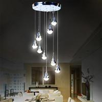 ingrosso le luci led da 15 watt-JESS 27 Watt sostituibile Lampadina a LED Lampada a sospensione Meteor Rain Meteorico Shower Stair Bar Droplight LED Lampada AC110-240V Illuminazione