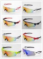 riding cycling glasses بالجملة-العلامة التجارية الرادار EV الملعب الاستقطاب النظارات الشمسية عدسة نظارات الشمس نظارات في الهواء الطلق للرجال الرياضة النظارات الشمسية النظارات ركوب الدراجات نظارات UV400