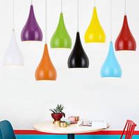restoran dekorasyon ışıkları toptan satış-Modern Restoran Kolye Işıkları Minimalist LED Asılı Lamba Yemek Odası Sarkıt İç Dekorasyon Ev Aydınlatma Lamparas