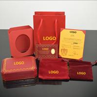 Wholesale box rings resale online - Screwdriver bracelet brand original jewelry box ring bracelet gift box with warranty card invoice jewelry bag handbag