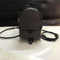 okul çantası çantası toptan satış-41562 Tasarımcı BackpSack Deri Çantalar Kız Okulu Çanta Bayan Tasarımcı Omuz Çantaları Purse 16/20 / 26cm