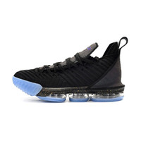 9122dfab52d2 Mens lebron 16 basketball shoes Black Glow in dark Throne Blue SuperBron  White Purple Grey new youth kids lebrons sneakers boots with box