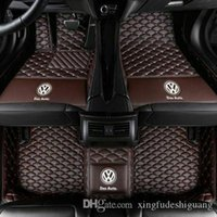 vw jetta golf gti toptan satış-VW Beetle Atlas CC Golf GTI Jetta Passat Polo Tiguan Transporter Araç paspas