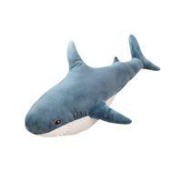 ücretsiz köpekbalığı oyuncakları toptan satış-80 cm köpekbalığı peluş oyuncaklar çocuklar için Yeni yaratıcı bebek karikatür kawaii hayvanlar çocuklar dolması brinquedos ücretsiz kargo