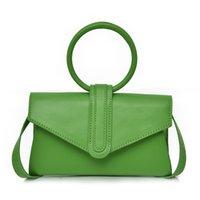 süßigkeit farbe top griff taschen groihandel-Süßigkeit-Farben-Luxus-Handtaschen für Frauen 2019 New Clutch-Bag Round Top-Griff Toter Mode Kleine Tasche Frauen Clutch