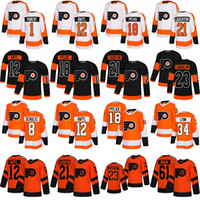 anpassen trikots groihandel-Customized Philadelphia Flyers # 13 Lil Peep Fashion Star Hockey Jerseys 11 Travis Konecny ​​12 Michael Raffl 13 Kevin Hayes 18 Tyler Pitlick