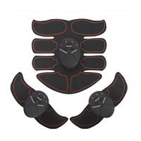 massage intelligent achat en gros de-Smart EMS Dispositif abdominal Ménage Simulateur de remise en forme Personne paresseuse Perdre du poids Aide à la formation Artefact Massage Muscles abdominaux 52xm C1