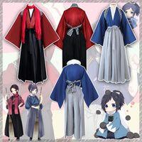 Wholesale full tv online for sale - Group buy Halloween Japan Anime Touken Ranbu Online Yamatonokami Yasusada Kashuu Kiyomitsu Cosplay Costume Kimono Uniform Full Set Asian Size