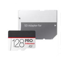 10pcs Popular Selling 256GB 128GB 64GB 32GB PRO microSDXC Micro SD endurence UHS-I Class10 Mobile Memory Card DHL