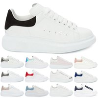 12e63ee313722c Wholesale sneakers online - Black White Flat Shoes Designer Men Women  Casual Sneakers Girls Comfort Pretty