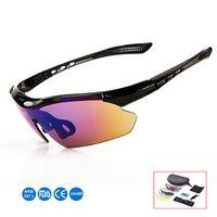fahrrad sonnenbrille frauen großhandel-Polarisierte radfahren sonnenbrille outdoor sports fahrrad brille männer frauen fahrrad sonnenbrille 29g brille brillen 5 objektiv