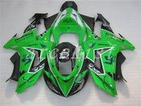 Wholesale New ABS motorcycle Fairings For Kawasaki Ninja ZX R ZX10R ABS Motorcycle Fairing Kit Bodywork Fairings green custom