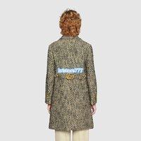 botones de camisa personalizados al por mayor-manera de las mujeres de la vendimia diseño de lujo solo pecho Tweed capas de las chaquetas camisa de la pista de alta End Girls Custom Tops traje chaqueta con botones