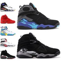 Wholesale valentine flats for sale - Group buy Cheap Valentines day s Men Basketball Shoes Aqua Black White PEAT Chrome PLAYOFF Mens Trainer Athletic Sports Sneakers Drop Shipping