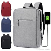 Wholesale girls new college bags for sale - Group buy New Laptop Backpack USB Charging inch Women Men School Bags For Teenage Girls College Travel Backpack Male