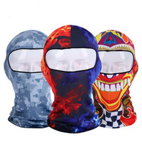 Wholesale full face paintball mask for sale - Group buy 3D Orcs Skull Motorcycle Balaclava Full Face Mask Warm Motor Helmet Liner Ski Paintball Snowboard windproof mask
